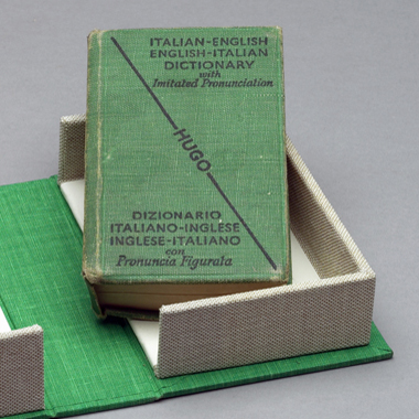 Italian dictionary (inside)
